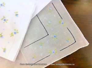 Brand new Beautiful Embroidered cotton Handkerchief for wedding