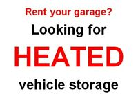 Looking for heated vehicle storage in Peterborough