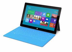 Microsoft Surface Pro 1 - 4GB/128GB and blue Type Cover