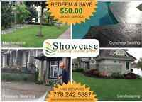 Need a Landscaper? -----> Call Showcase Lawns & Landscaping