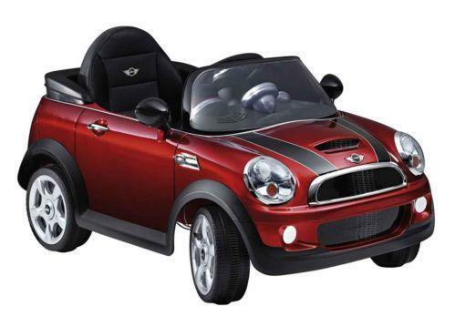 kids mini cooper electric car