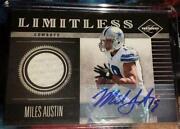 Miles Austin Autograph