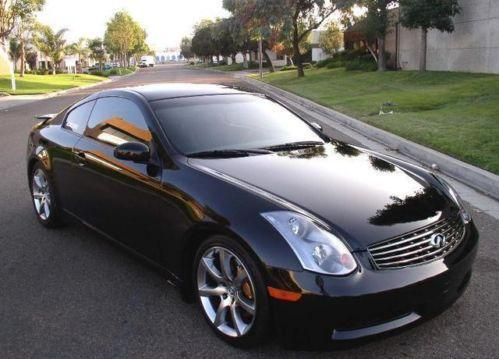 infiniti g35 coupe ebay. Black Bedroom Furniture Sets. Home Design Ideas