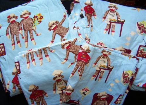 Sock Monkey Sheets Ebay