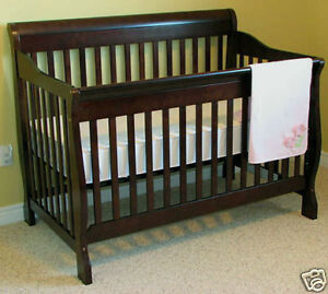 Tammy 4 in convertible crib - white and java colour available