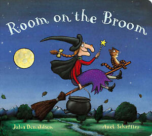 Room-on-the-Broom-Board-Book-Julia-Donaldson-Used-Good-Book