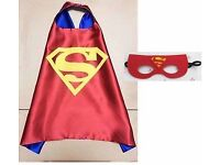children Super Hero superman Cape and Mask age suitable from 3-7