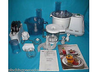 BRAUN 3210 K1000 FOOD PROCESSOR MULTISYSTEM MIXER BLENDER, KNEADS, WHISKS, MIXES, BLENDS 5 IN 1