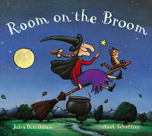 Room on the Broom by Julia Donaldson paperback 2004 - <span itemprop='availableAtOrFrom'>cumbernauld, North Lanarkshire, United Kingdom</span> - Room on the Broom by Julia Donaldson paperback 2004 - cumbernauld, North Lanarkshire, United Kingdom