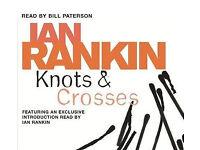 IAN RANKIN AUDIO BOOK Inspector Rebus Knots & Crosses 3cd boxset