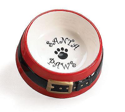 Santa Paws Pet Water Bowl