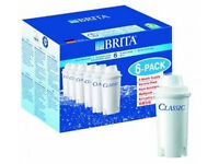 BRITA Classic Water Filter Cartridges - 6 Pack
