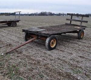 Looking for an old hay wagon