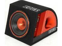 Edge 900w bass subwoofer and kenwood kac-7204 amp