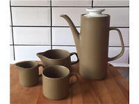 Vintage Danish style teapot/coffee set/ceramics