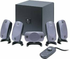 Logitech Z=5300 5.1 THX Surround Speakers Gatineau Ottawa / Gatineau Area image 1