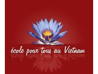 My native fluent English for your French or Vietnamese