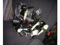 Honda civic 3 Dr front - rear seatbelts