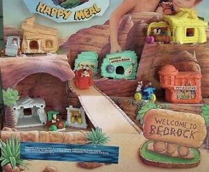 Set of Flintstones McDonalds Toys 1993