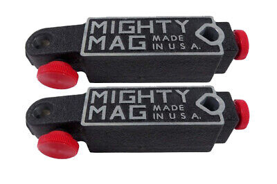 2pcs Mighty Mag 400-1 Universal Magnetic Base Testdial Indicator Holder Usa P