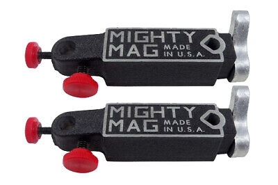 2pcs Mighty Mag 400-3 Universal Magnetic Base Quick Release Indicator Holder Usa