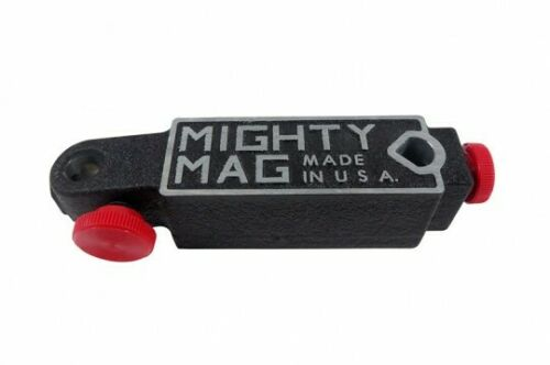 Mighty Mag 400-1 Universal Magnetic Base Test/Dial Indicator Holder USA !