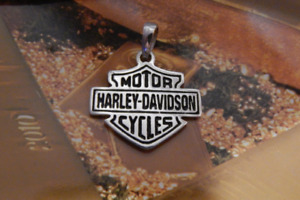 Motor Harley Davidson cycles Sterling Silver 925 Charm Pendant