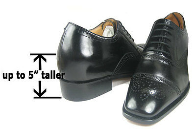Hidden Heel Shoes Men Can
