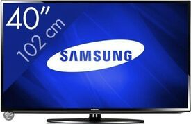 "USED Samsung 4O"" 40EH5000 full HD 1080p backlit LED TV FREEVIEW TV WITH REMOTE NO STAND"