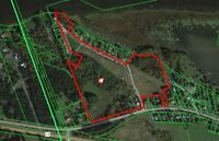 Waterfront acreage ideal for future development in Wendover!