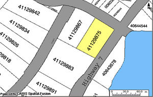 3 COMMERCIAL LOTS FOR SALE PORTERS LAKE with Lake Views