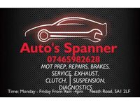 Service and brakes from £20