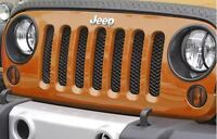 Rugged Ridge Insertion Grille mesh noires Wrangler
