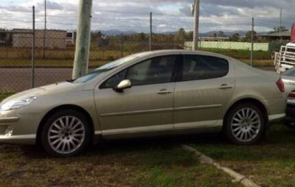 WRECKING 2007 PEUGEOT 407 V6 AUTO DIESEL ALL PARTS DELVD FREE