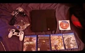 PS4 + 1 CONTROLLER AND 1GAME.