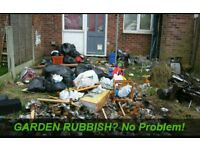 Garden-Rubbish-Removal-House Waste-Green Waste-Washing Machines etc Fast & Affordable
