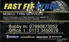 tyre mobile fitting in west yorkshire