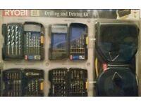 Ryobi 87 pcs drilling and driving kit