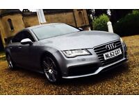 SEP 2012 62 PLATE AUDI A7 S-LINE FULLY LOADED F/S/H VOSA CHECK HPI CLEAR