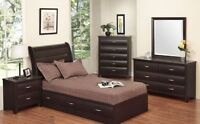 ★LORD SELKIRK FURNITURE★ MOCHA - YOUTH BEDROOM SUITE IN ESPRESSO