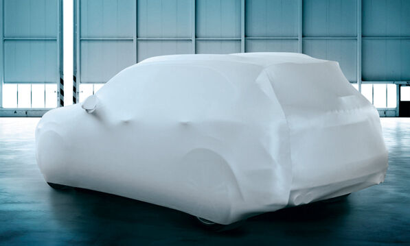 BMW 3 Series Indoor, Garage & Showroom Breathable Fabric Protection Car Cover