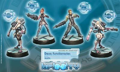 Infinity ALEPH SYNCHRONIZED DEVA UNIT (4 miniatures) New In Box COR280825 for sale  Fleetwood