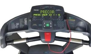 I NEWER USE Like NEW PRECOR 9.35i only 8 miles on ODOMETER Original price $4.000 NEW You will save $ 2400,