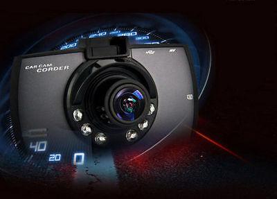 "Full HD 1080P 2.3"" LCD Car DVR Dash Camera Crash Cam G-sensor Night Vision"