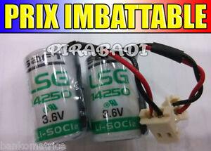 1-Pile-Lithium-3-6V-1250mAH-1-2-AA-LS14250-SAFT-LiSOCL2-14250-PLC-BATTERIE-FILS