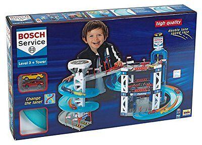 Theo Klein 2809 - Bosch Parkhaus mit 3 Ebenen Turm mit Spurwechsel NEU/OVP