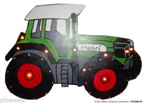 Wandlampe traktor wandleuchten ebay for Traktor lampe kinderzimmer