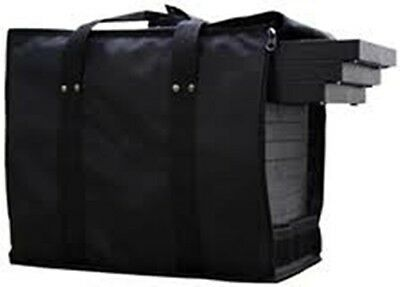 Premium Jewelry Travel Carrying Display Case With 12 Black Trays