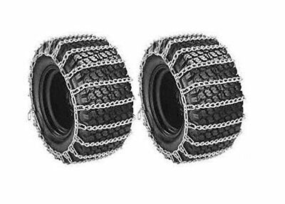 The ROP Shop 2 Link TIRE Chains /& TENSIONERS 18x6.5x8 for MTD//Cub Cadet Lawn Mower Tractor