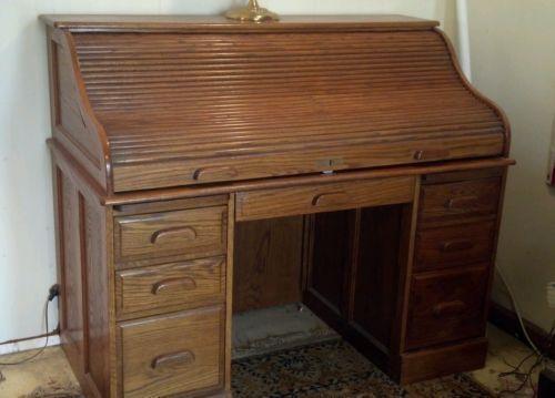 solid oak desk ebay